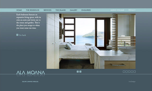 Ala Moana Website Design