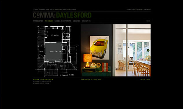 Comma Website Design